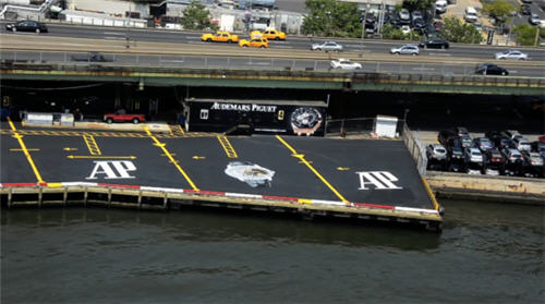 Audemars Piguet at New York's 34th Street Heliport