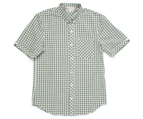 Left Field Short Sleeve Button Down Shirts