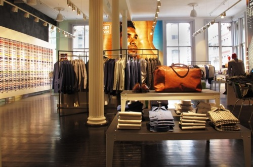 Inside look billy reid 39 s new dallas store por homme for Custom dress shirts nyc