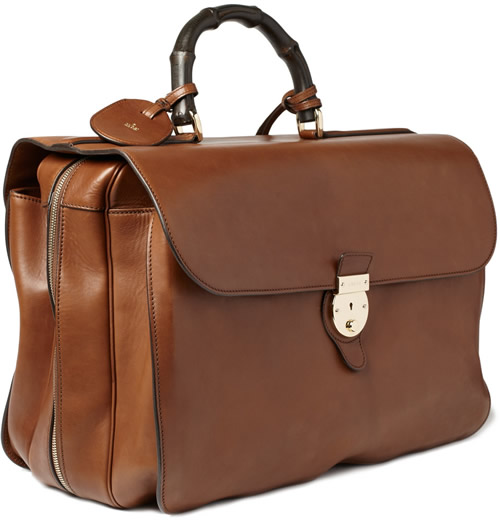Gucci Leather Holdall for Fall 2011