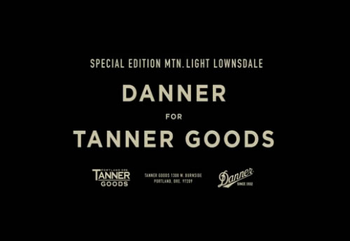 Danner for Tanner Goods   Mountain Light Lownsdale Video
