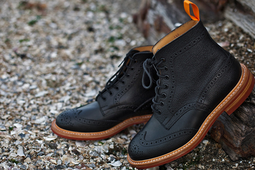 Tricker's for The Brooklyn Circus Fall/Winter 2011 Brogue Boots