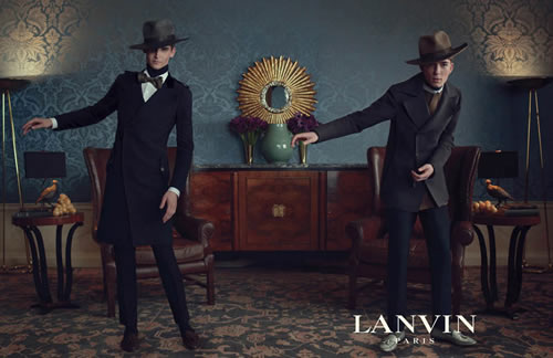 Lanvin Fall/Winter 2011 Ad Campaign