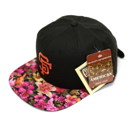 6b911d30fe1 The Genesis Project Floral Snapback Hats