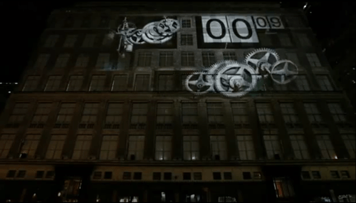 Saks Holiday 2011 3D Video Projection Show