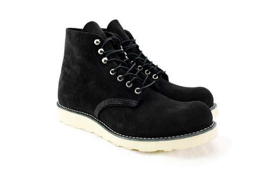 Red Wing Heritage x Blends Black Suede Boot