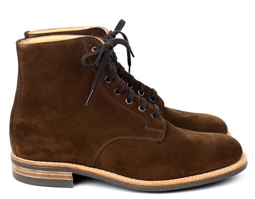 Mark McNairy x Inventory Snuff Suede Dainite Sole Derby Boot
