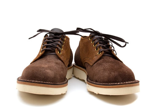 Viberg Old #145 Oxford Two Tone Suede