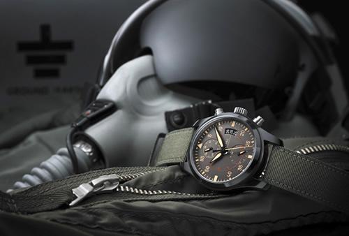 IWC Pilot Chronograph Top Gun Miramar at SIHH 2012