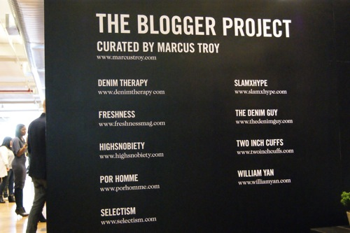 The Blogger Project | Live from PROJECT NY Fall/Winter 2012