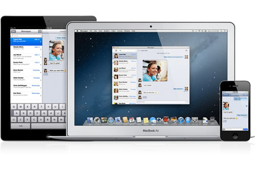 Messages App Brings iMessage to Mac - OS X Mountain Lion