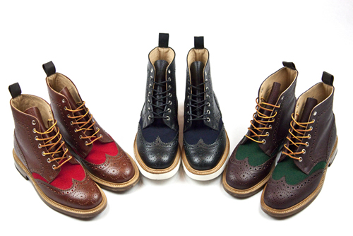 Mark McNairy x Standard ATL Brogue Boots Spring/Summer 2012