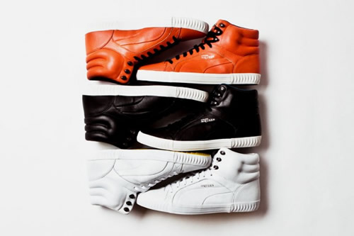 PUMA x Alexander McQueen Street Climb Mid Leather S/S 2012
