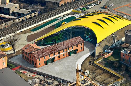 Enzo Ferrari Birthplace Museum in Modena, Italy