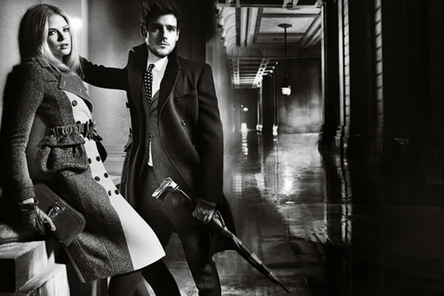 Burberry Fall/Winter 2012 Ad Campaign