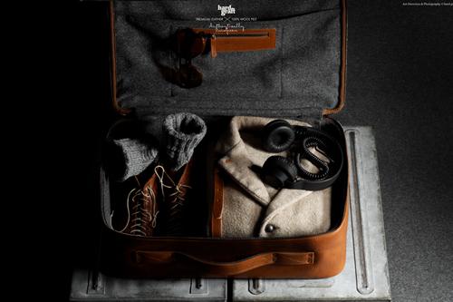 Hard Graft   CarryOn Suitcase