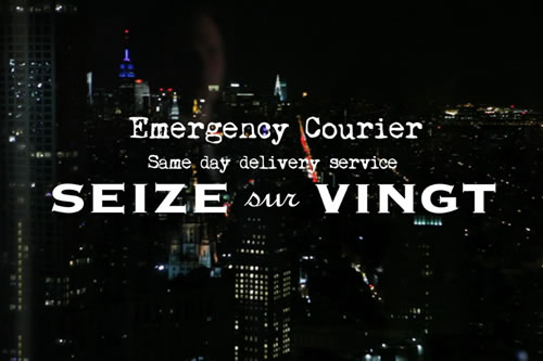 Introducing | Seize sur Vingt Emergency Courier
