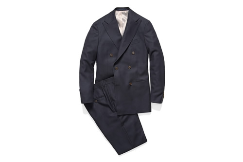 Suitsupply x Park & Bond Deconstructed Double Breasted Suit