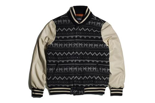 PROJECT LV | 11After11 Aztec Varsity Jacket