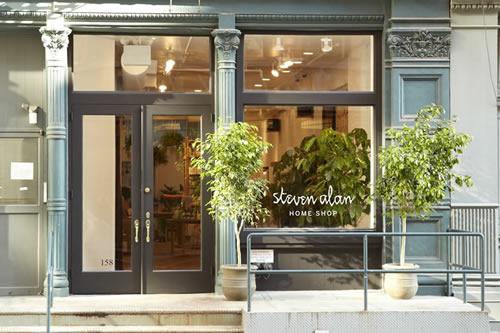 Now Open | Steven Alan Home Shop in New York