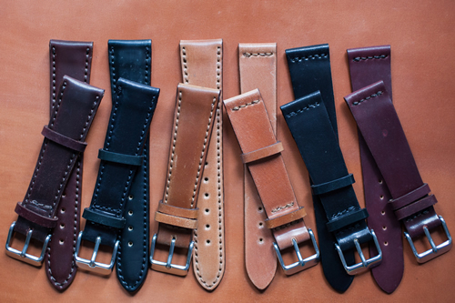 Now Available | HODINKEE Horween Shell Cordovan Watch Straps