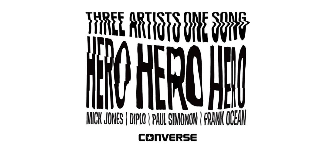 'Hero' by Frank Ocean x Diplo x Mick Jones x Paul Simonon