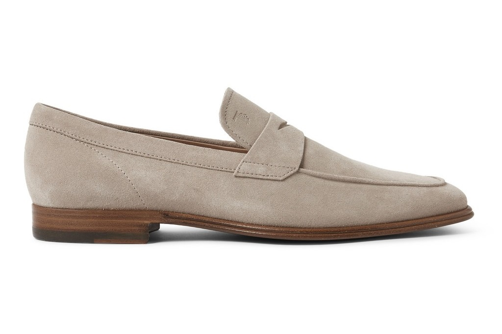 Summer Essentials: TOD's Suede Penny Loafers - Por Homme ...
