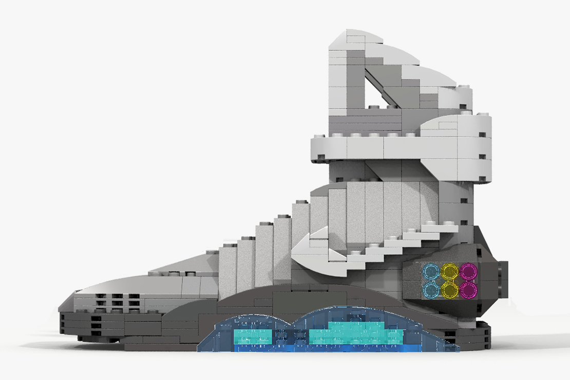 96ab9f40b87f The Nike MAG Lego Version by Tom Yoo