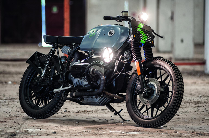 Royal Enfield Cafe Racer Hd Wallpaper Sbang A Customized Bmw R100 By Svako Motorcycles