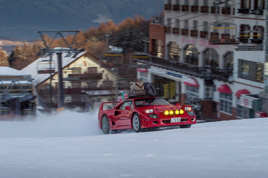 red-bull-kimura-ferrari-f40-japan-snow-2016