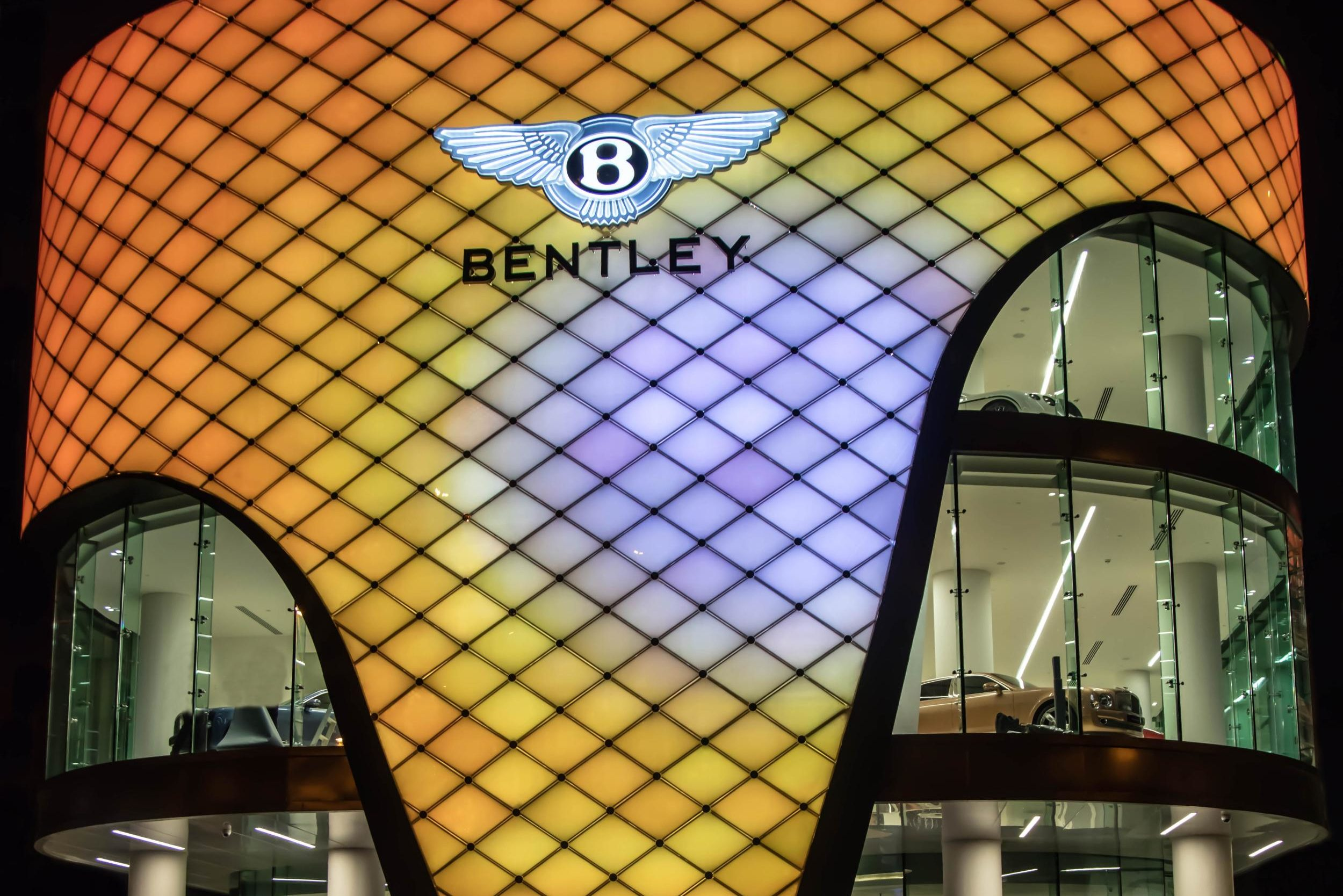 Bentley Showroom Dubai