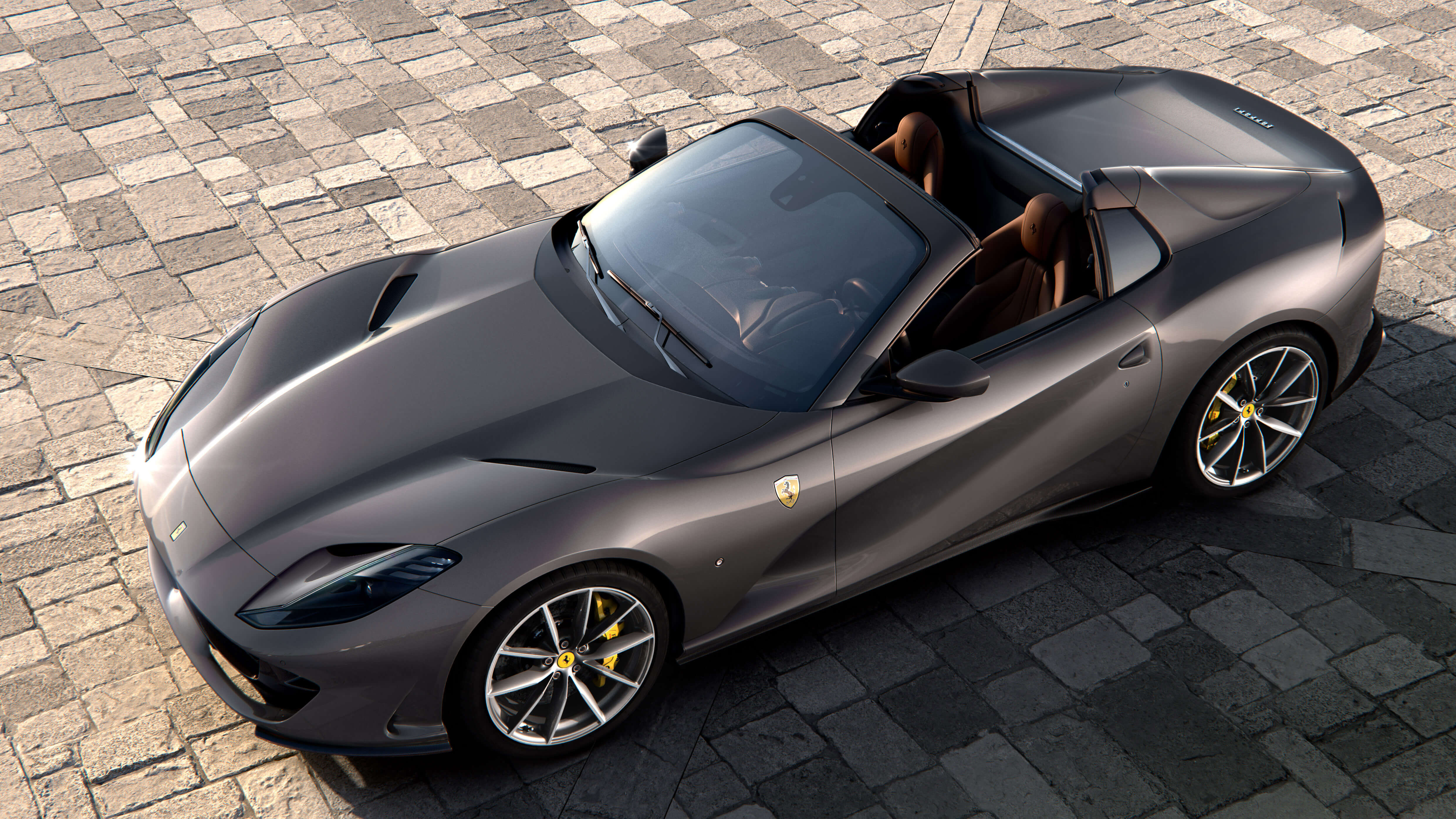 Ferrari 812 GTS Is A V12-Powered Convertible That Gets To 124 MPH in Just 8.3 Seconds