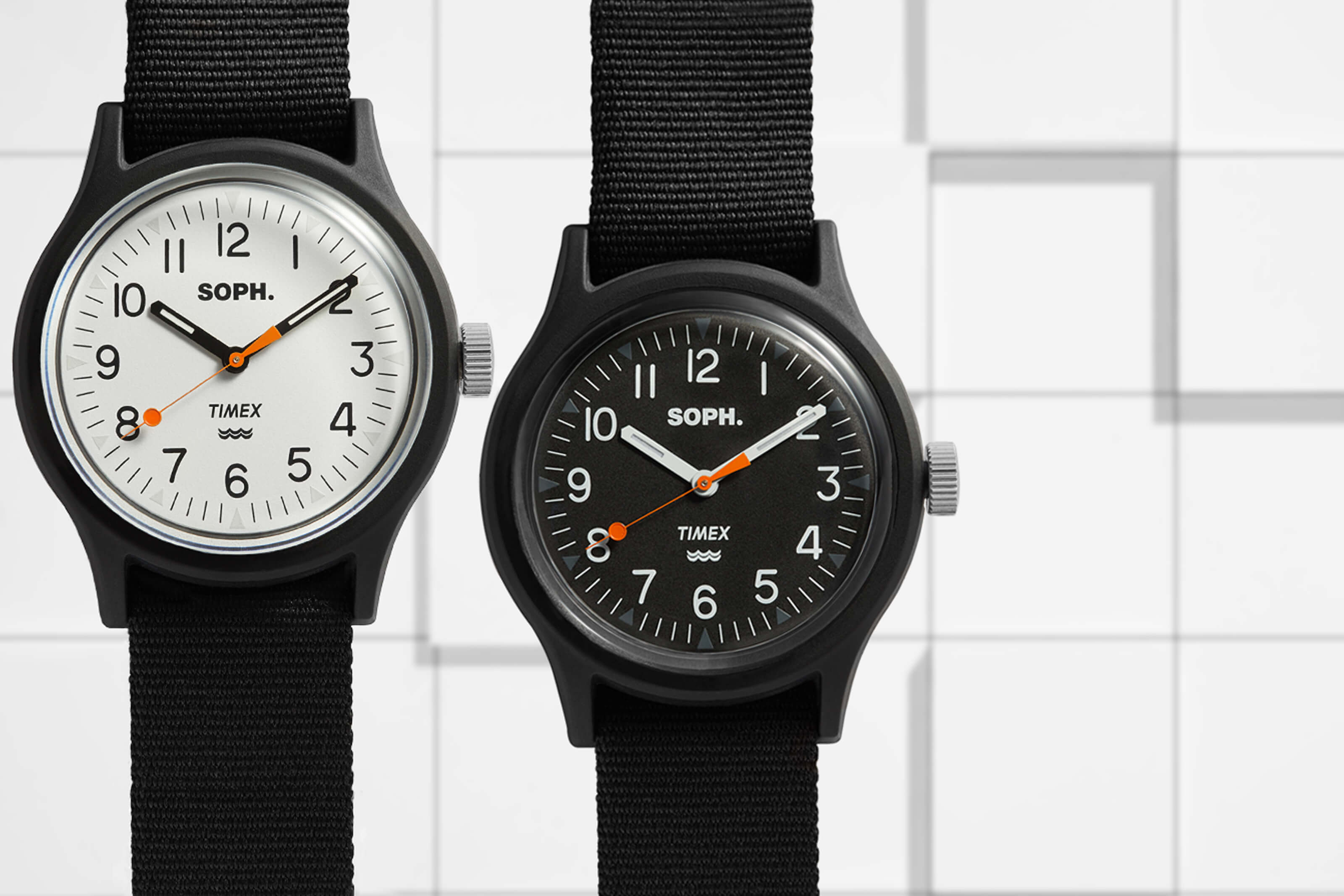 Japan's SOPHNET Celebrates 20th Anniversary with END. x Timex MK1 Watch Collaboration