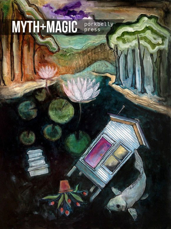 Myth+Magic anthology (cover: Angie Reed Garner)