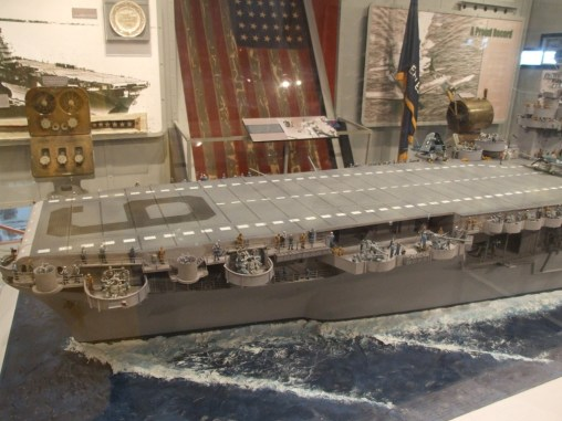 1/72 Scale Model USS Enterprise CV-6