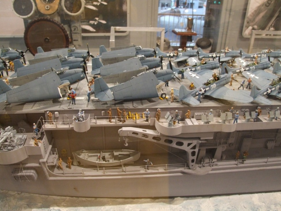 1  72 uss enterprise cv-6 scale model