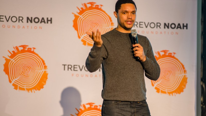 Trevor Noah Launches R2M Matched-Giving Campaign to improve education