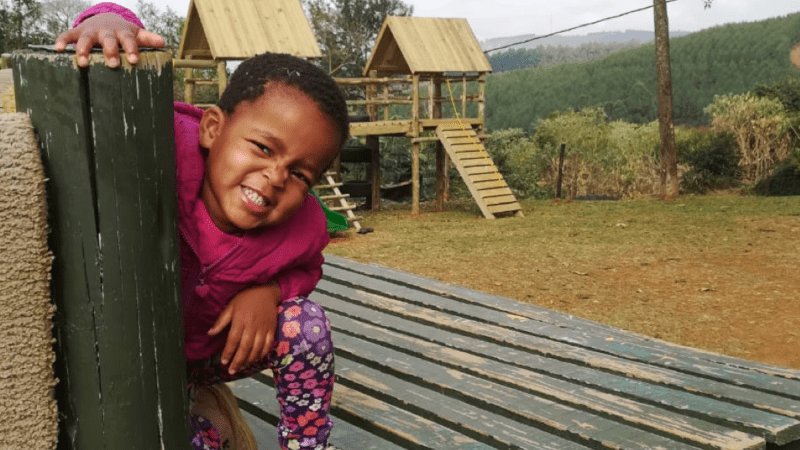 A Merry Christmas for the Children of Thandi House