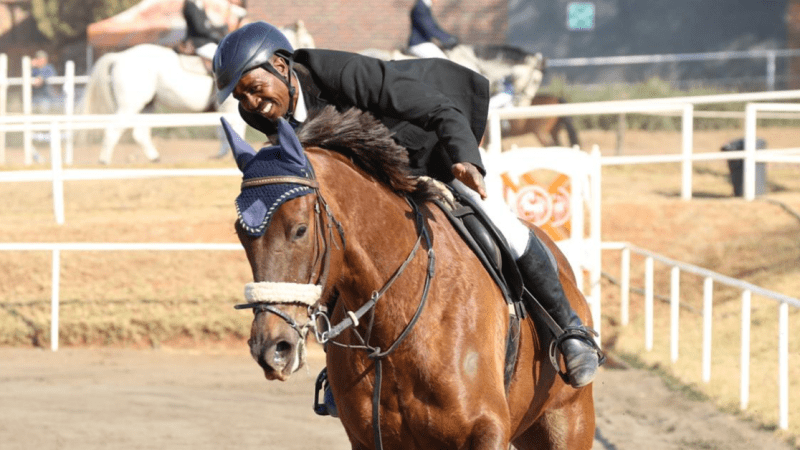 Horse-riding community supports beloved 'groom' turned coach after freak accident