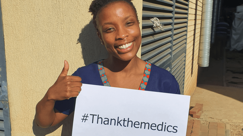 Doctor Yenzi Ngema urges South Africans to #ThankTheMedics