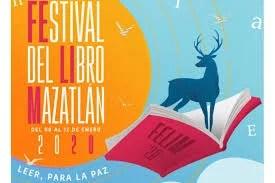 Todo listo para iniciar el Festival del Libro Mazatlán 2020.