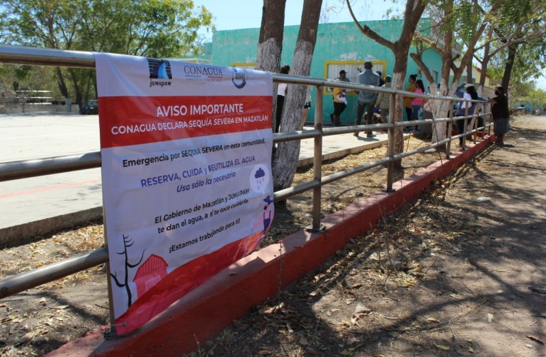 Informa JUMAPAM situación de sequía a El Armadillo, Palmillas y Miravalles