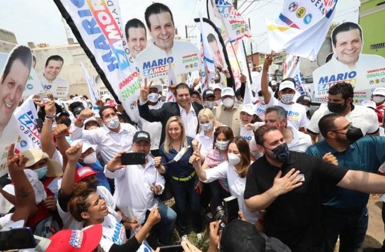 SE COMPROMETE MARIO ZAMORA A DIGNIFICAR LA POLITICA, TRAER BIENESTAR Y SEGURIDAD PARA LOS SINALOENSES.