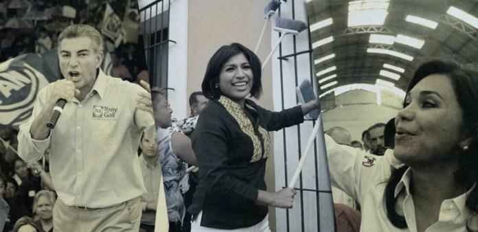 Roxana Luna, candidata del PRD a la gobernatura de Puebla, dio inicio a la campaña