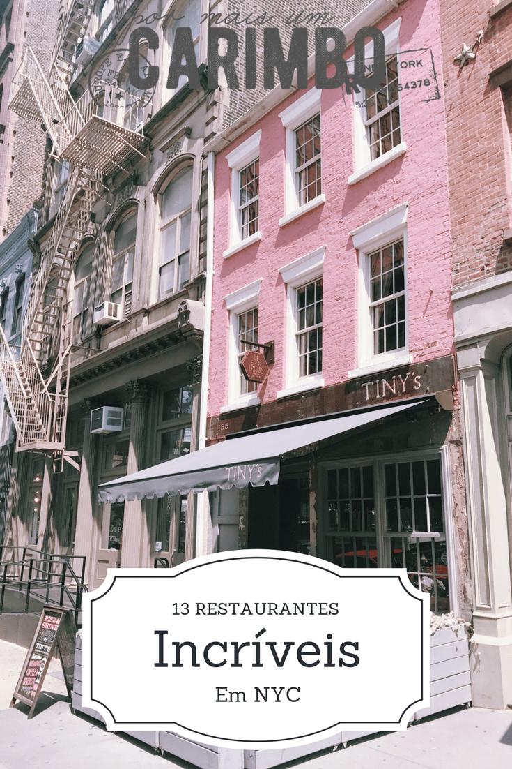 tiny's restaurantes em ny