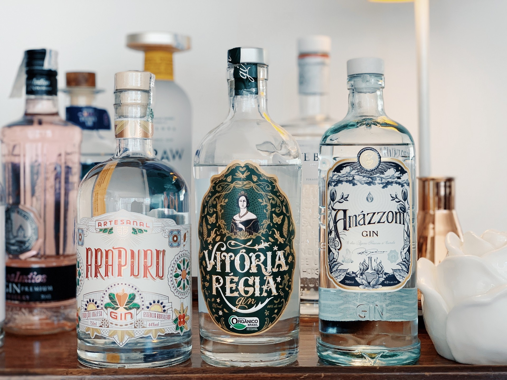 minha coleção de gin