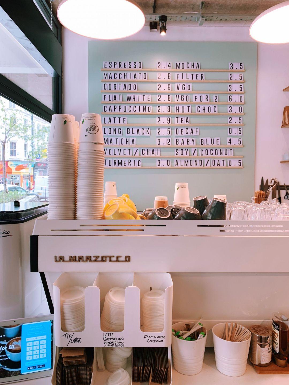 cafés e restaurantes em Londres