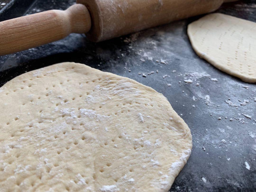 pao pita grego e tzatziki