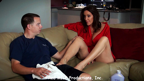 [Rachel Steele] – MILF1256 – Sons Secret Fantasy [720p] (Incest Roleplay)