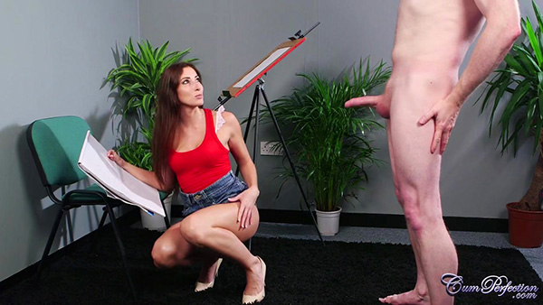 [CumPerfection] Clea Gaultier – Life Model [720p HEVC x265]